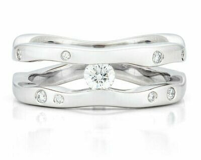 Seine-White Gold/Diamonds