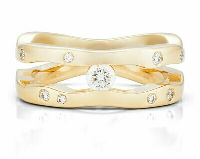 Seine-Yellow Gold/Diamonds