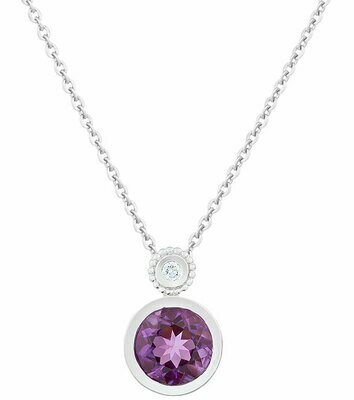 Tuileries—Silver with Amethyst