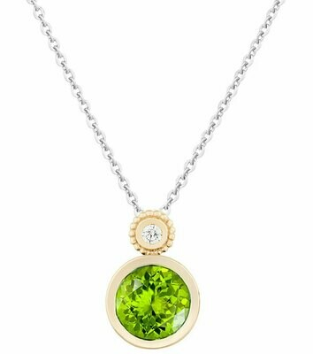 Tuileries—Yellow Gold with Peridot