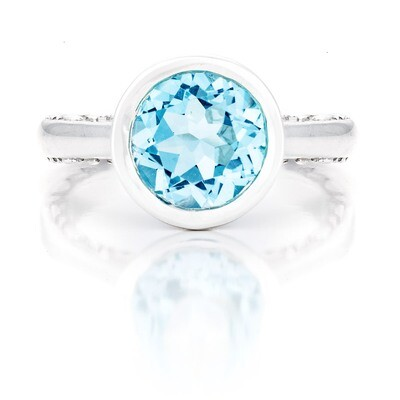 Tuileries—Sliver with Blue Topaz