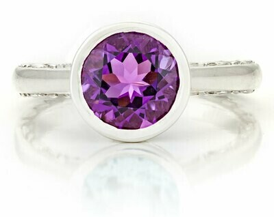 Tuileries—Sliver with Amethyst