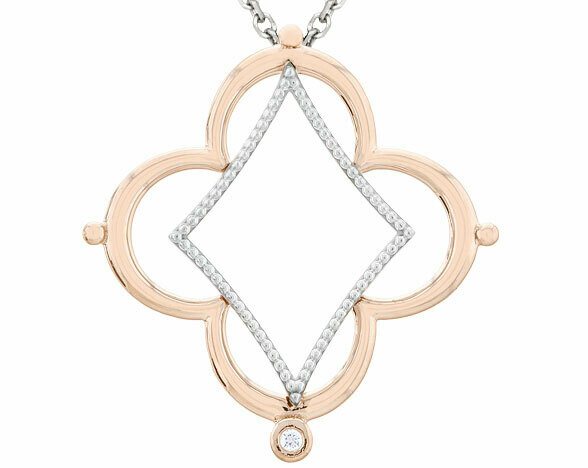 Bella Italia—Rose Gold & Sterling Silver