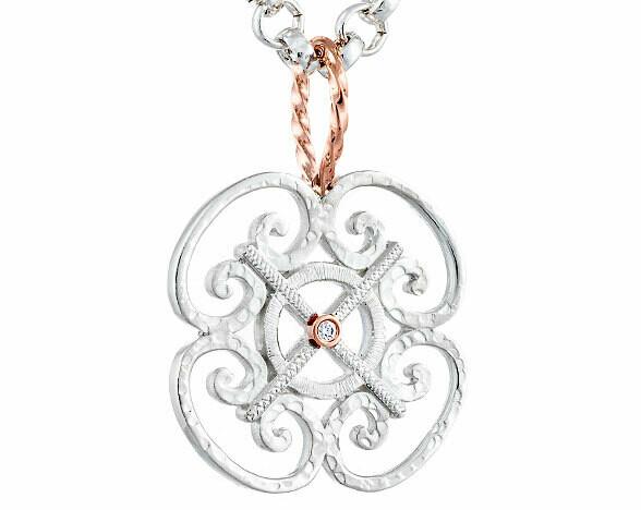 Porte d'Italia—Silver/Diamond-Small