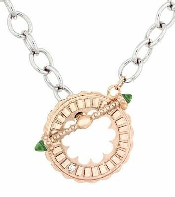 Sacré-Coeur—Rose Gold & Peridot