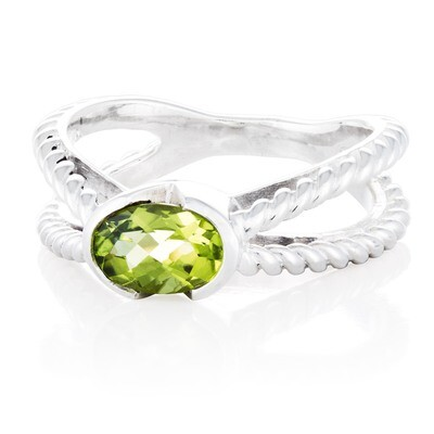 Brooklyn Bridge—Sliver/Peridot