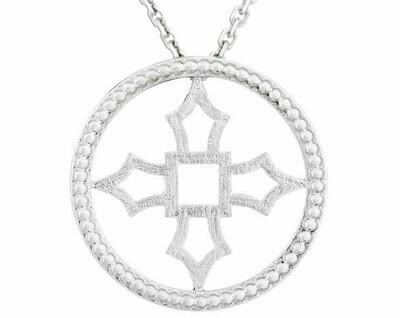 Fontana Pendant—Silver