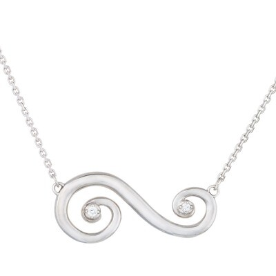 Barcelona Scroll—Classic in Sterling Silver