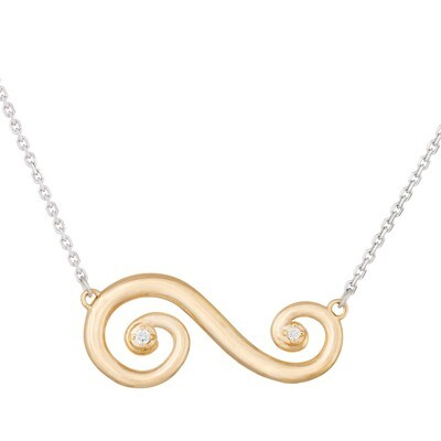 Barcelona Scroll—Classic in Yellow Gold