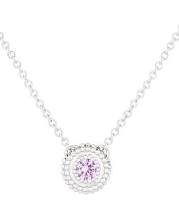 Petit Trésor—White Gold/Pink Sapphire