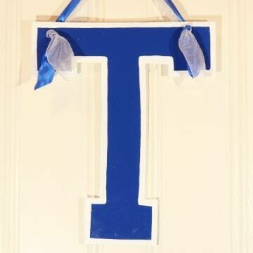 Trinity School T Door Hanger