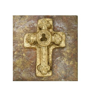 "India Stewart Double Trinity Cross 5""x5"""