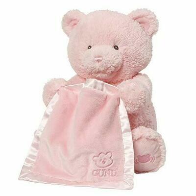My First Teddy Peek a Boo (Pink)