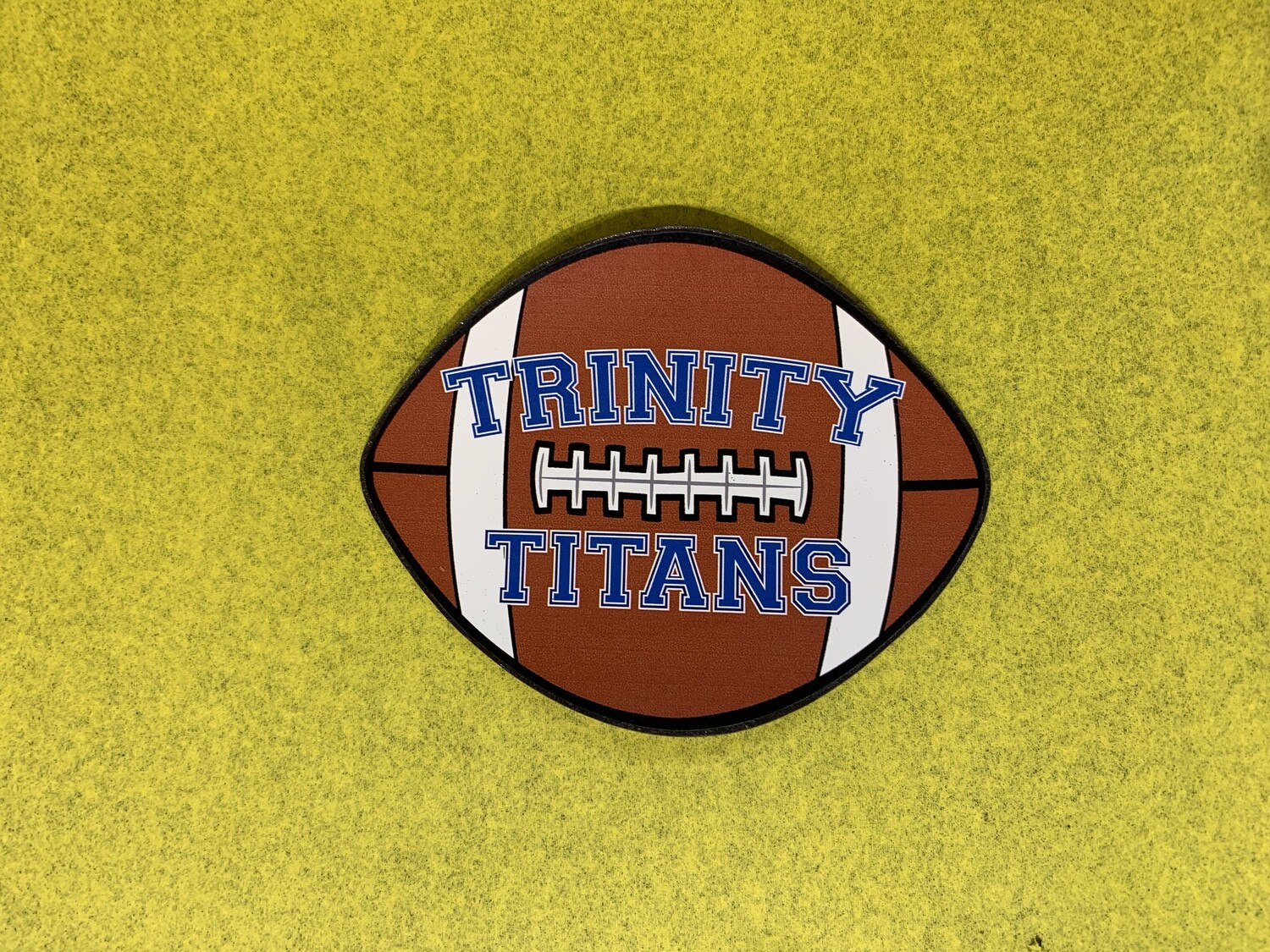 Trinity Titans Football Car Magnet