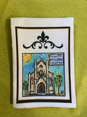 Jax Frey Trinity Church Tea Towel