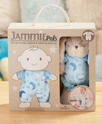 Jammie Pals - Blue 0-9mos