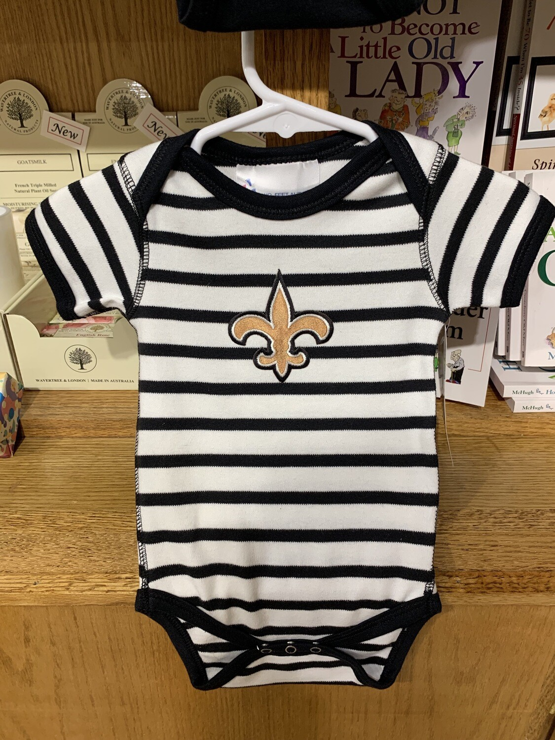 Saints Boy's Onsie 6mos