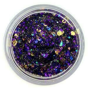 Galexie Purple and Gold Glitter