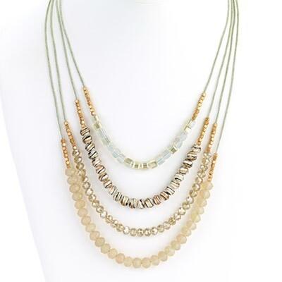 Island Necklace Art Beads