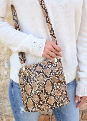 Crossbody Bag - Snake