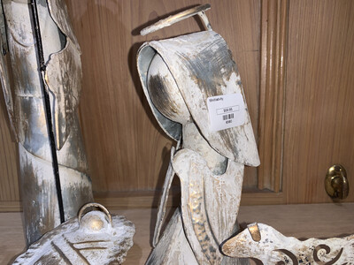 Mini Metal Nativity