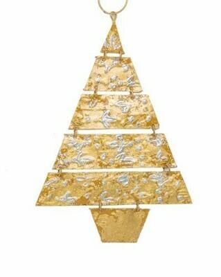 Baroque Sway Gold Tree Ornament