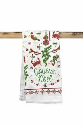 Joyeux Noel Kitchen Towel