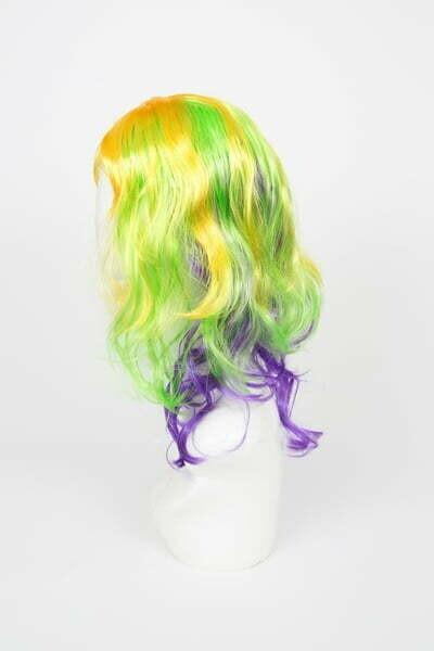 Mardi Gras Full Wig