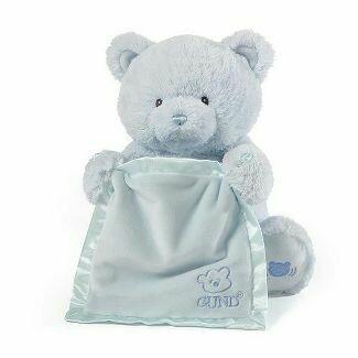 My First Teddy Peek a Boo (Blue)