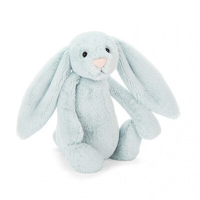 Jellycat Small Blue Bunny 8 inches tall