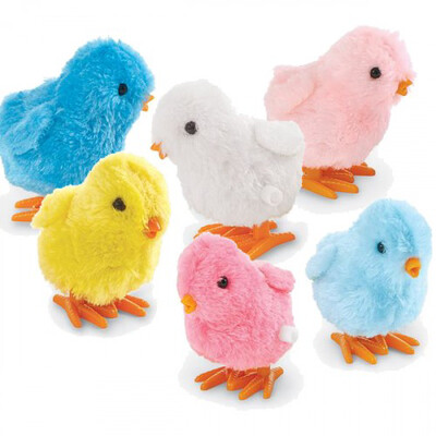 Wind Up Chick (yellow, blue, pink, hot pink, white, blue, baby blue)
