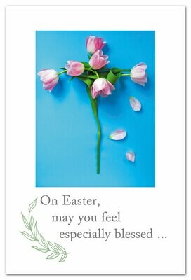 On Easter May You Feel Card