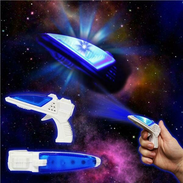 LED Space Gun with Sound (2 pack)