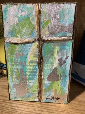 Ginger Leigh Pure Large Cross Art