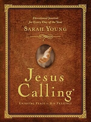 Jesus Calling: Devotional Journal by Sarah Young