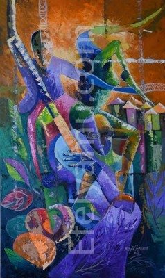 Soul Food- Music - Painting - 36