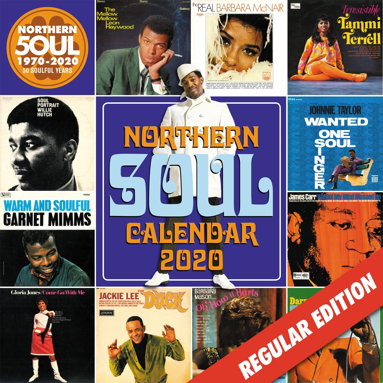 Northern Soul Calendar 2020 - Regular Edition / SOLD OUT
