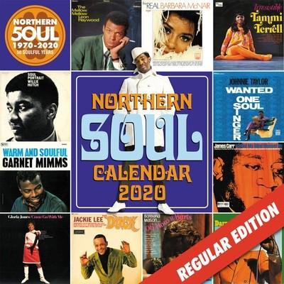 Northern Soul Calendar 2020 - Regular Edition