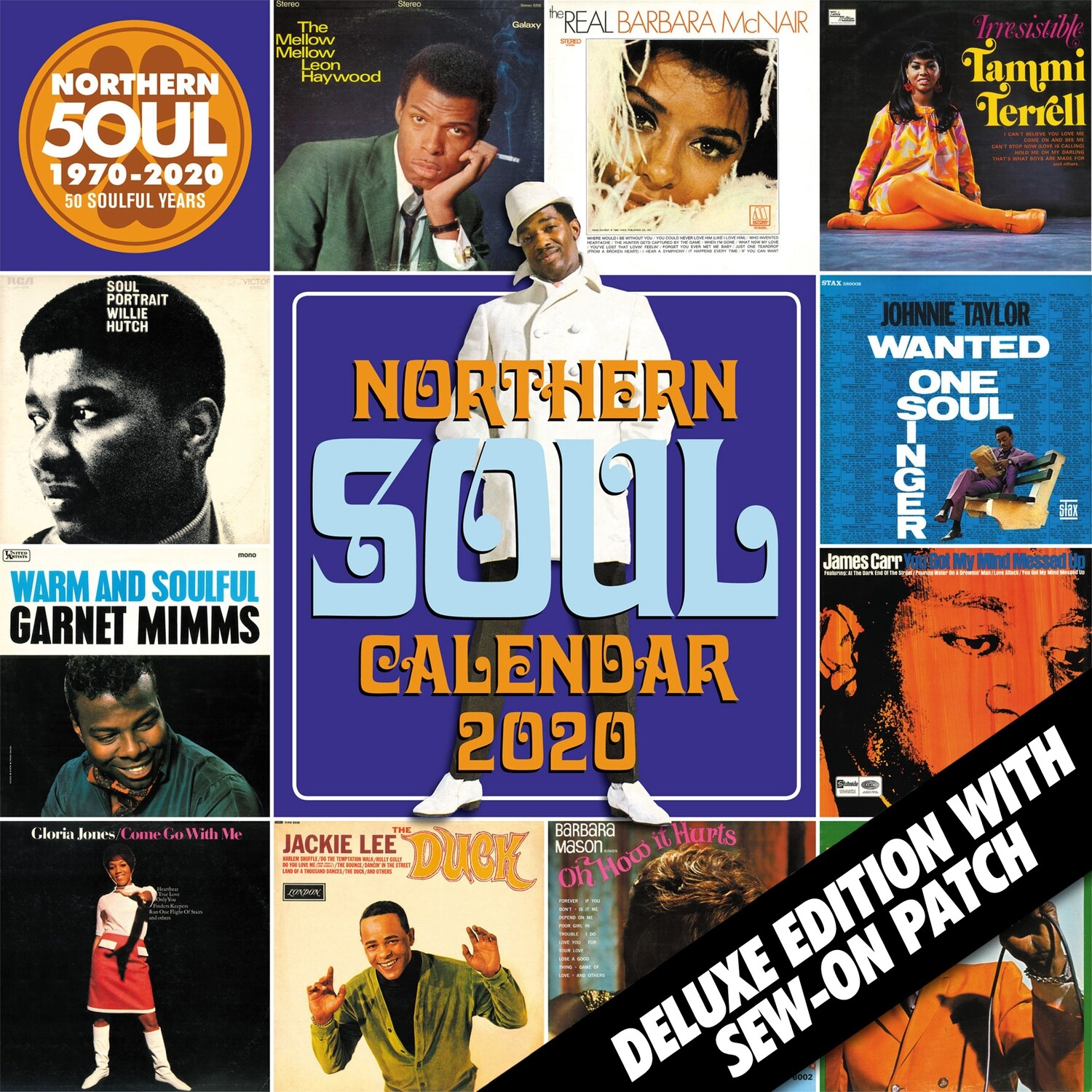 Northern Soul Calendar 2020 - Deluxe Edition