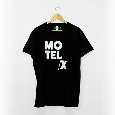 MOTELX Logo T-shirt Unisex / BLACK