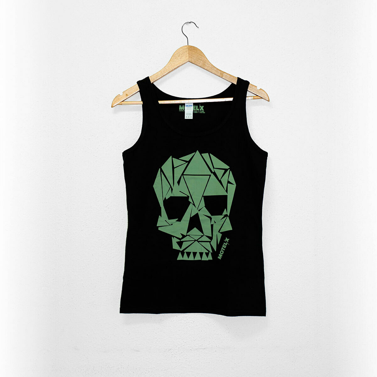 MOTELX 2018 Special Edition Tank Top Ladies / Skull / BLACK