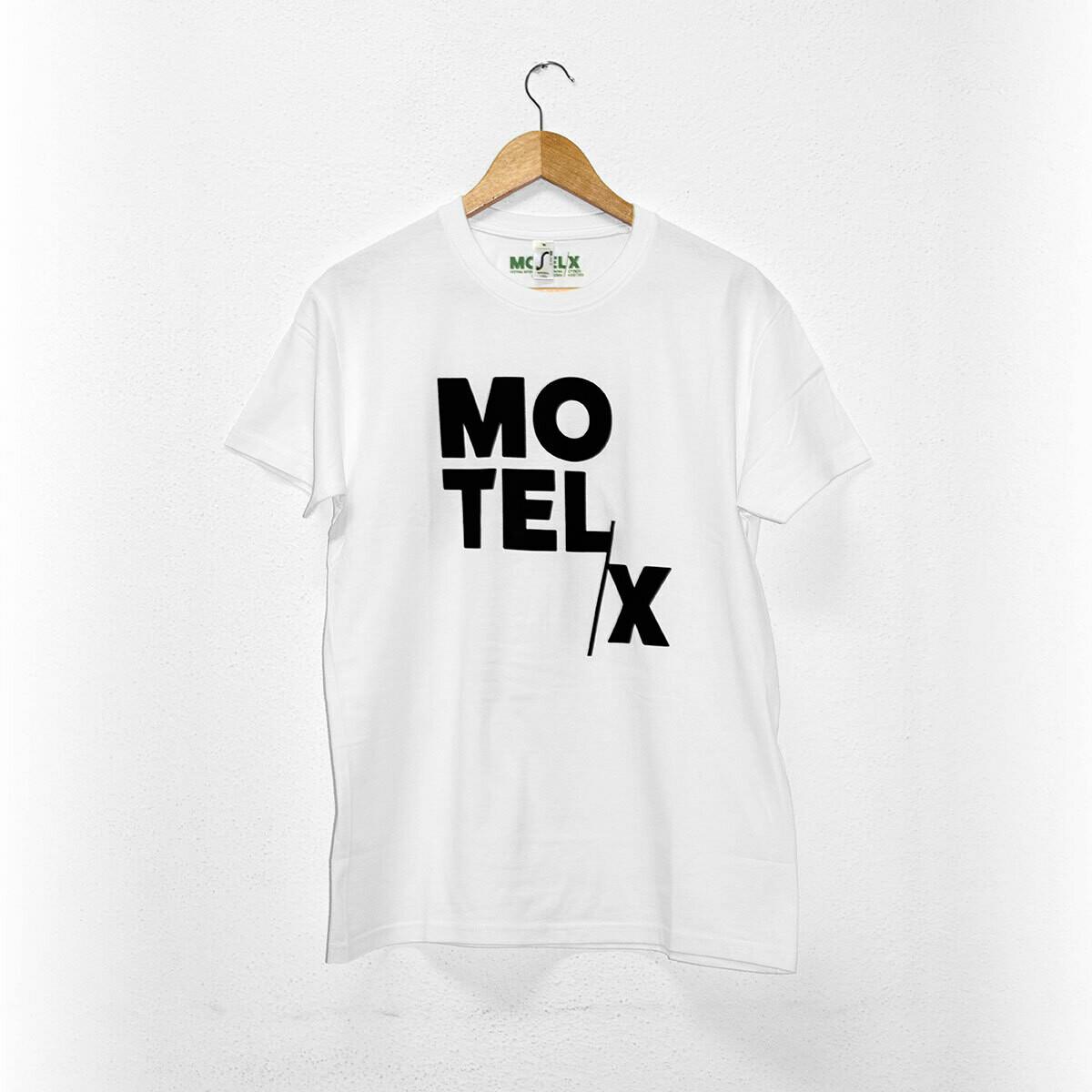 MOTELX Logo T-shirt Unisex / WHITE