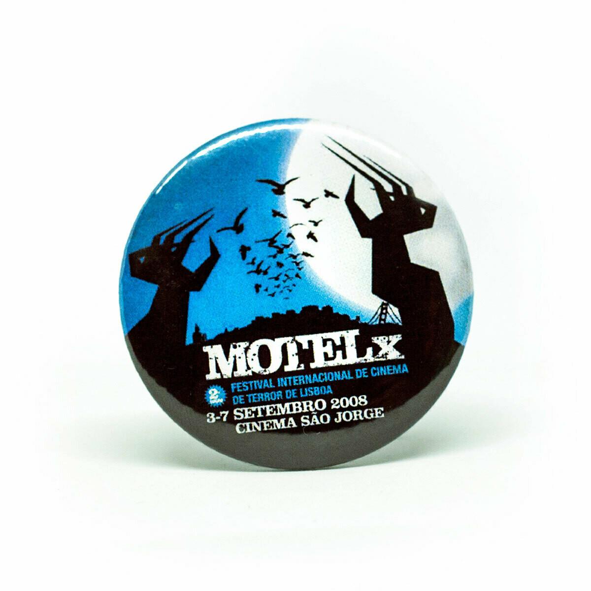 Set 2 Pins MOTELX 2nd Edition / Large Size