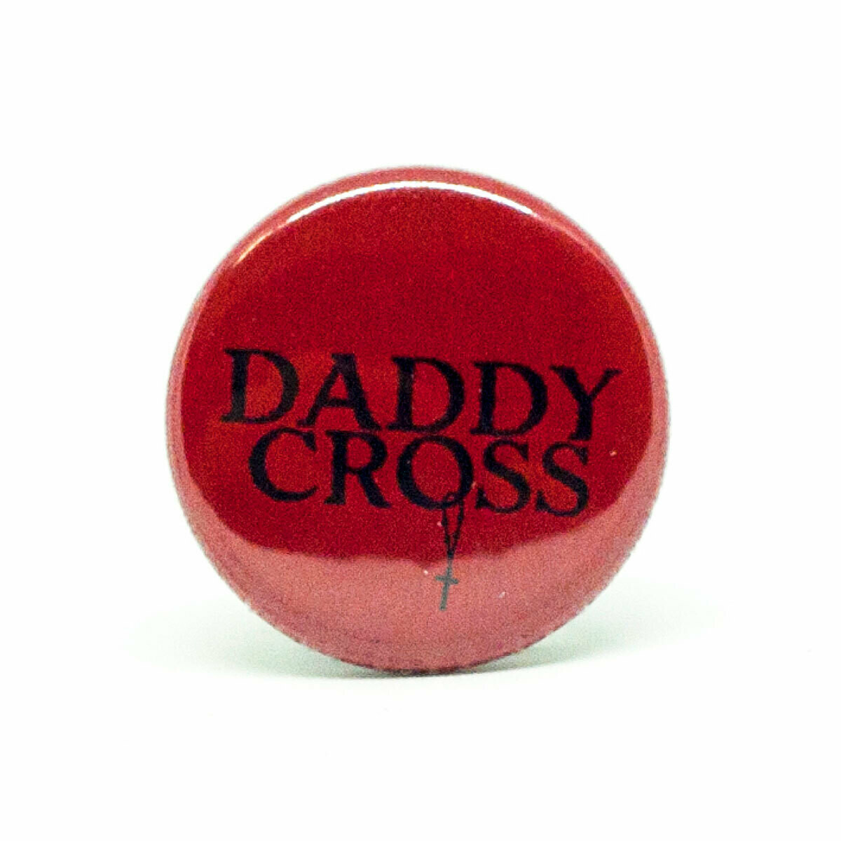 Set Daddy Cross / Pin (small size) + Sticker