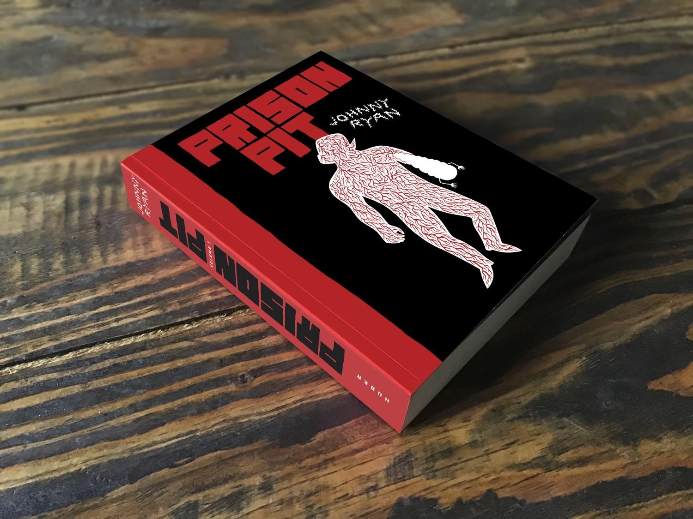 Prison Pit Volume 1 par Johnny Ryan (et sa jaquette exclusive!)