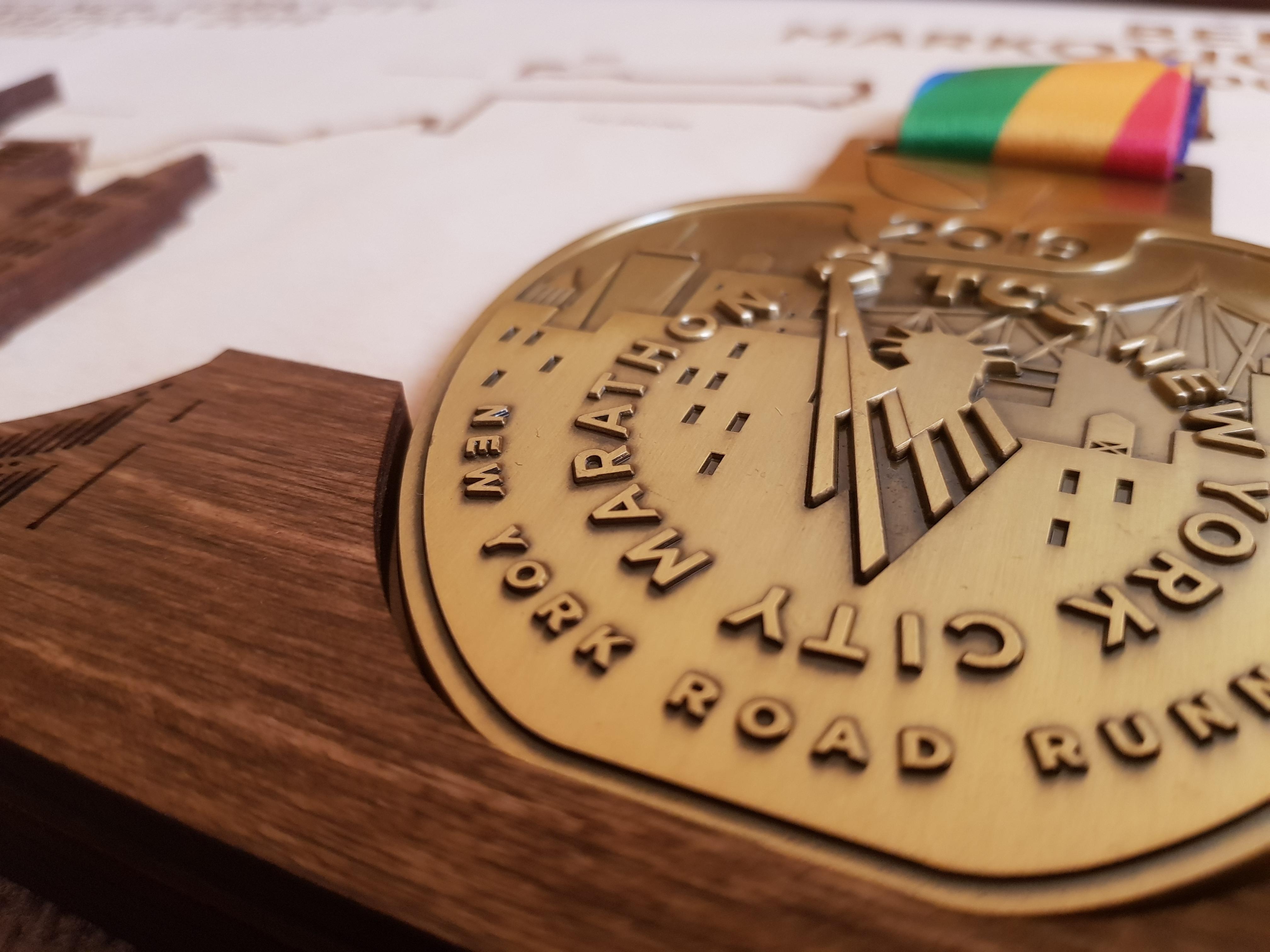 Los Angeles Marathon Medal Frame