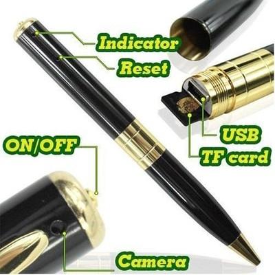 Hidden Pen Camera