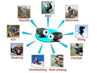 Action Sports Helmet Camera