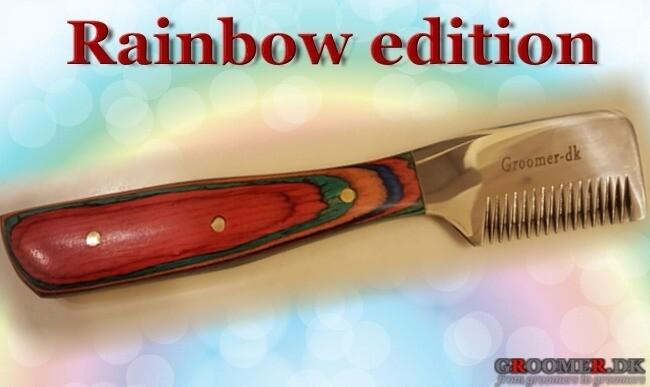 Danish RAINBOW edition knife - MEDIUM