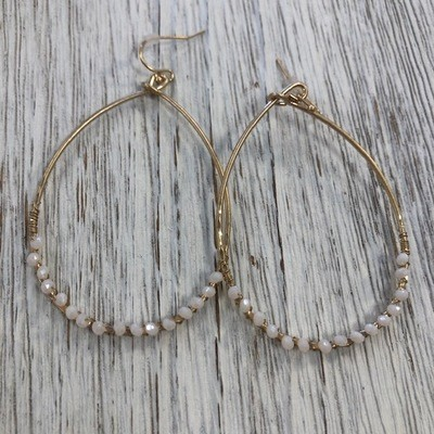 Seashore Bead Earrings